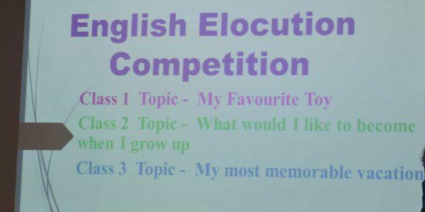 English Elocution2019-20
